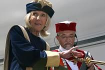 Čestný doktorát UTB ve Zlíně pro Evu Jiřičnou