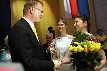 Po zvolení předsedy KDU-ČSL na sjezdu strany v Kongresovém centru ve Zlíně