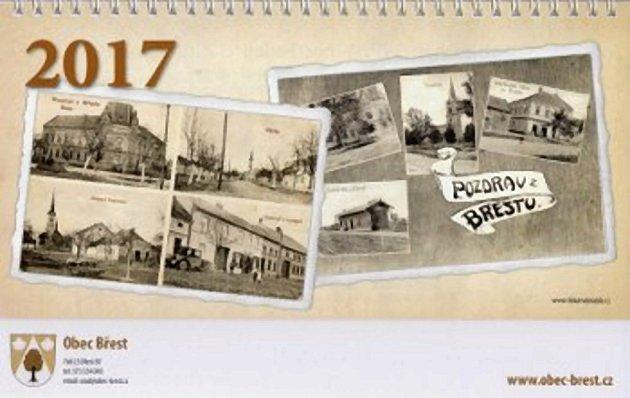 Čtrnáctidenní kalendář obce Břest na rok 2017