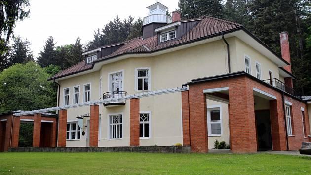 Baťova vila ve Zlíně.
