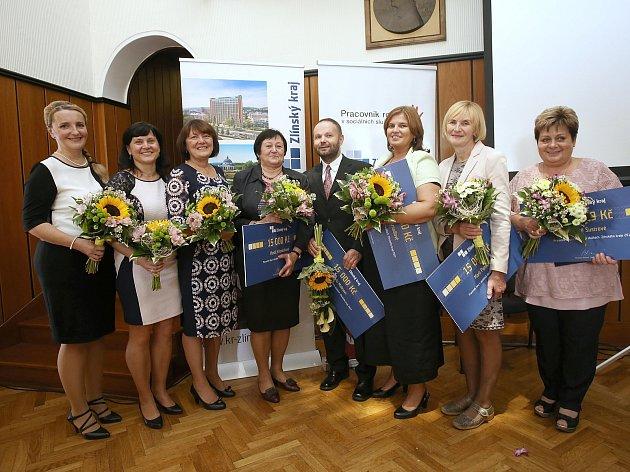 Pracovník roku v sociálních službách 2017. Slavnostní vyhlášení v Baťově vile ve Zlíně.