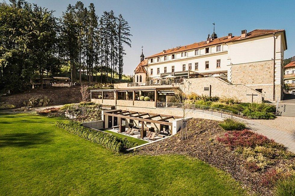 Z prostředí Wellness & spa hotelu Augustiniánský dům v Luhačovicích.