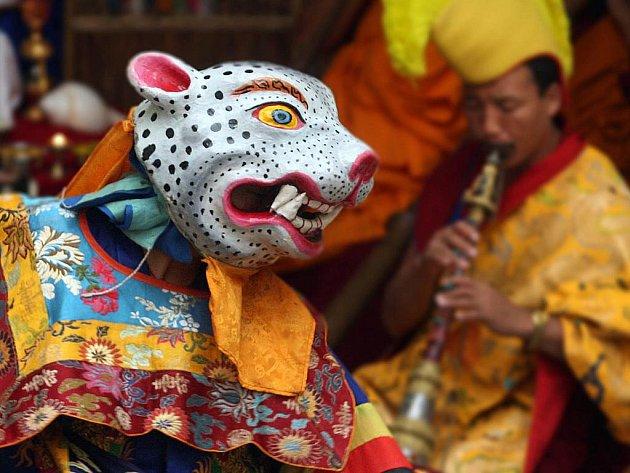 Rituální tanec tibetských mnichů, Zlín
