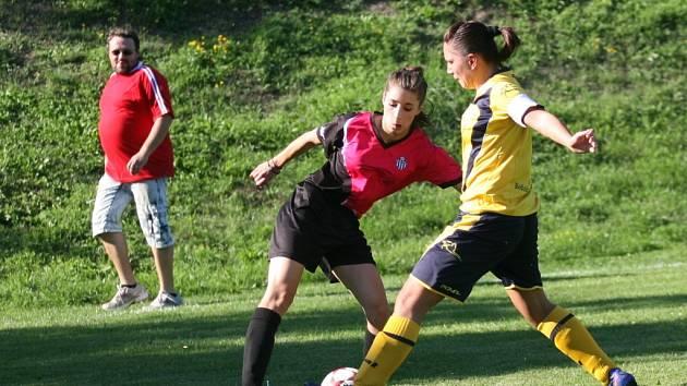 Fotbal ženy. Ilustrační foto