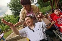 Dvacáté výročí od založení ve středu 24. června oslavil fryštácký Domov pro zdravotně postižené Hrádek.