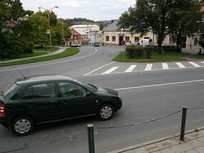 Vizovická křižovatka. Ilustrační foto
