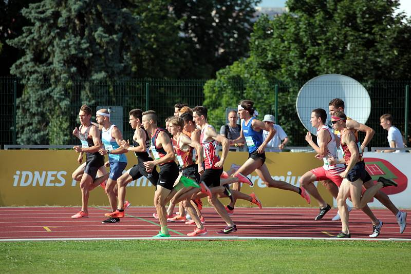 V neděli se druhým dnem konalo MČR v atletice mužů a žen ve Zlíně.