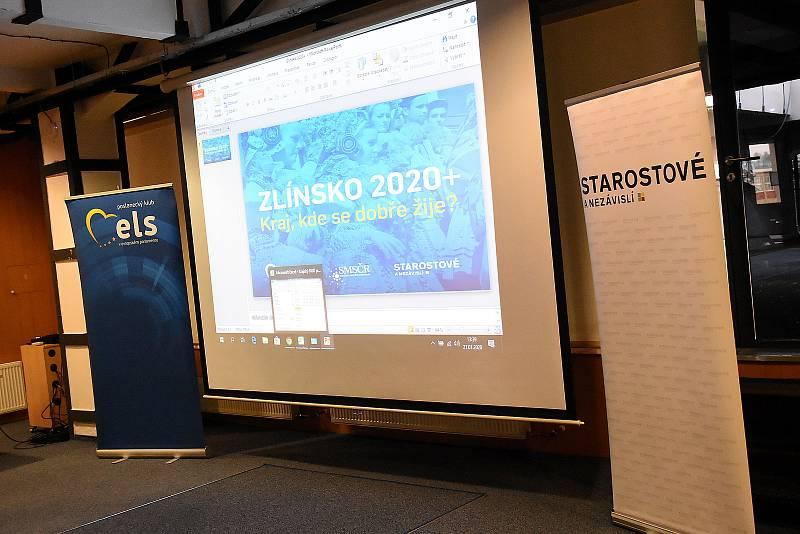 Konference s názvem Zlínsko 2020+ Kraj, kde se dobře žije.