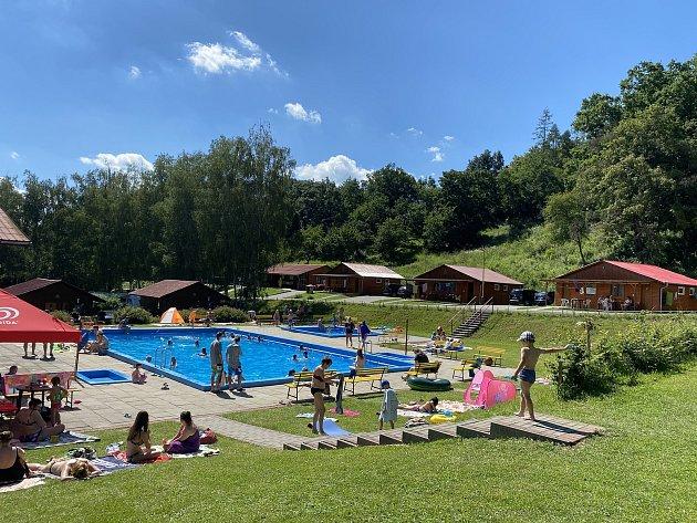 Kempy ve Zlínském kraji se vroce 2021těší oblibě turistů. Na snímku Eurocamping Bojkovice.