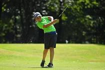 Desetiletý Hugo Mikl z Fryštáku se věnuje golfu už od svých čtyř let.