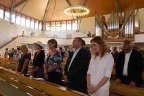 Charita Luhačovice oslavila 15. výročí slavnostní mší