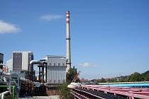 Zlínský komín společnosti Atel měří 140 metrů.