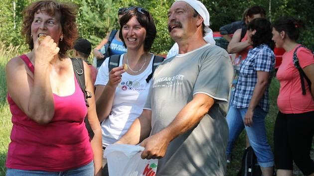 Milovníci turistiky v sobotu 28. července otevřeli ve Slopném na Zlínsku novou stezku věnovanou žokeji Váňovi.
