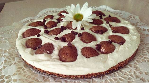 Jednoduchý a lahodný dort.