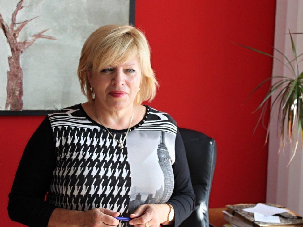 Jitka Zezulová, ředitelka Státního okresního archivu v Kroměříži