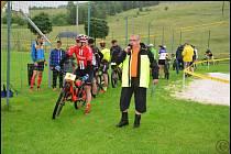Valašský triatlon družstev v Brumově