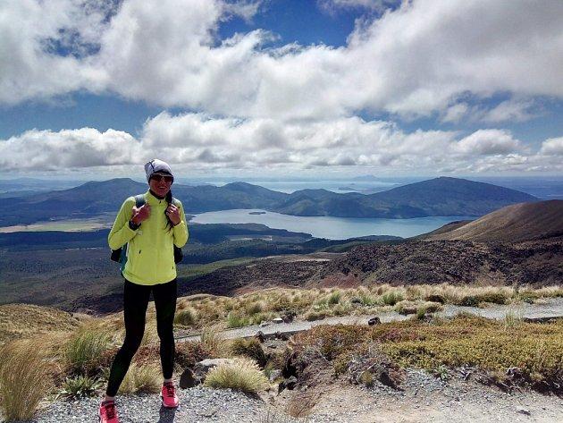Helena Kotopulu v Ironmanu na Novém Zélendu, březen 2018