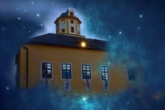 Noční hrad Malenovice.