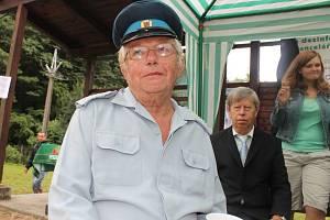 Josef Svoboda je dlouholetým členem Sboru dobrovolných hasičů Šarovy.