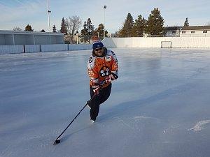 Sledge hokejistům Zlína bude v superfinále fandit i Kanaďan