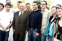 Baťa na setkání se Studentskou únií