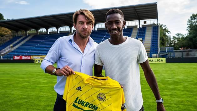 Fotbalisty Zlína posílil rychlý francouzský křídelník Youba Dramé,  který hrával v Ústí nad Labem.