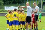Fotbal McDonlads Cup. Krajské kolo Vršava Zlín. ZŠ Komenského Zlín (žlutí) - ZŠ Oskol Kroměříž mladší