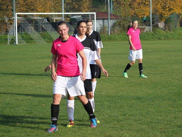 Fotbal ženy: Holešovské holky vs. Valašské Meziříčí. Ilustrační foto