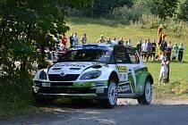 Barum Rally: Průjezd 3 RZ Troják. Na snímku Essapekka Lappi
