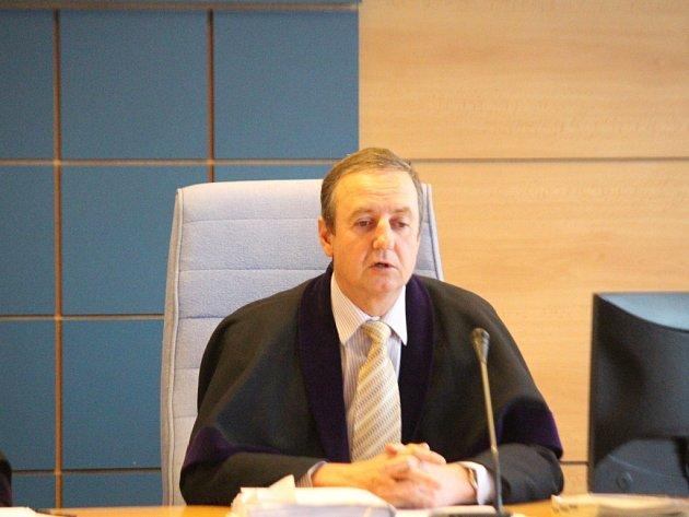 Soudce Radomír Koudela.