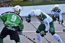 1. hokejbalová liga Malenovice-Přelouč