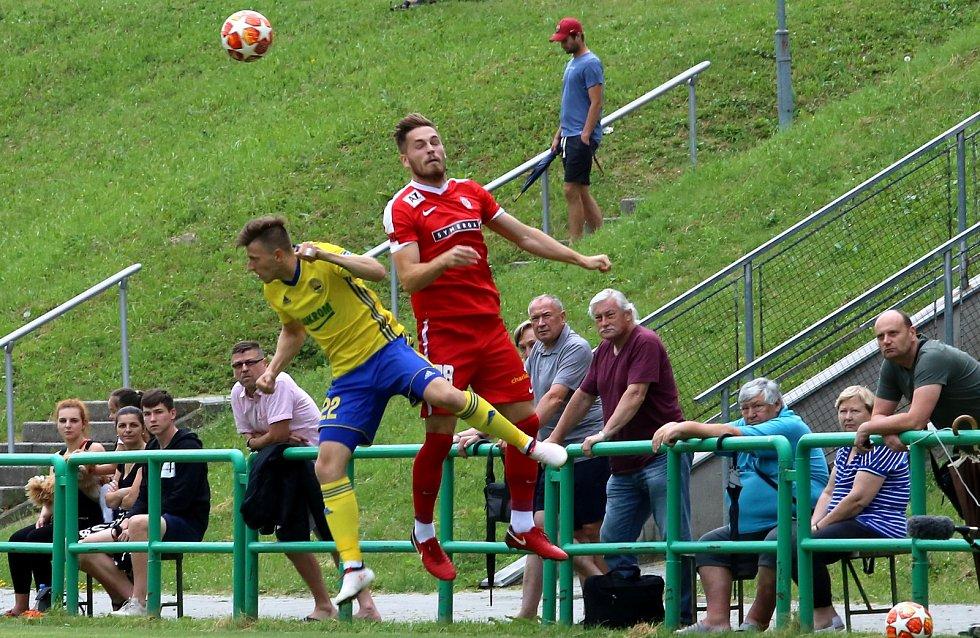 přípravný fotbal FC FASTAV Zlín  - FC Zbrojovka Brno