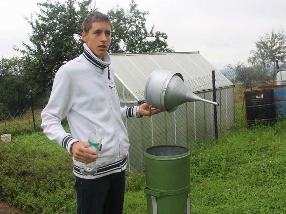Student zlínského Gymnázia TGM: Mým snem je měřit počasí na profesionální stanici