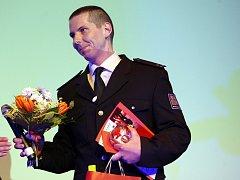 Slavnostní předávání ceny Salvator 2015 ve Zlíně. Rostislav Vítek.