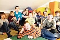 Žáci ZŠ v Tečovicích