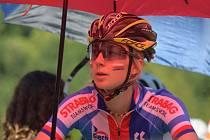 Tereza Tvarůžková startovala na mistrovství světa horských kol ve dvou závodech.