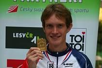 Tomáš Dlabaja, bronz z MČR na klasické trati