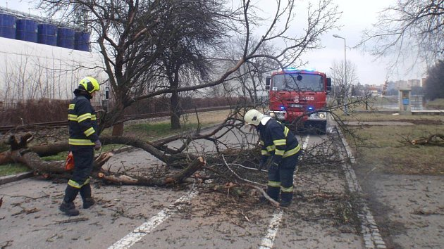 17. a 18. 3. 2018. Následky silného větru ve Zlínském kraji