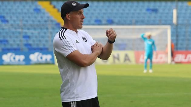 Trenér fotbalistů Zlína Jan Jelínek.