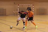 Zlínští futsalisté (v oranžových dresech). Ilustrační foto.