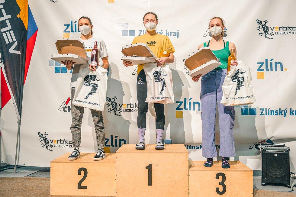 Zlínský Vertikon hostil Český pohár v lezení na obtížnost.