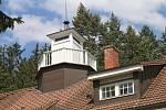 Vila Tomáše Bati ve Zlíně. Vyhlídková věžička