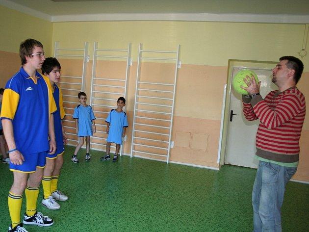Handicapovaní ze zlínských Lazů se připravují na turnaj