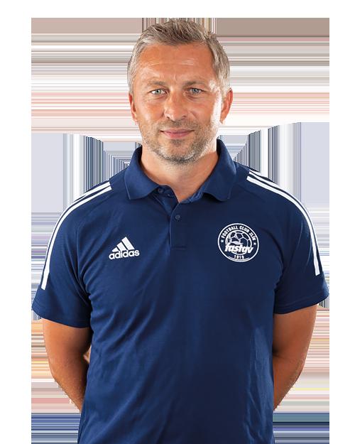 David Hubáček, asistent trenéra Fastav Zlín, hráč Luhačovic