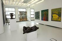 Baťův institut 14-15. Stálá expozice krajské galerie.