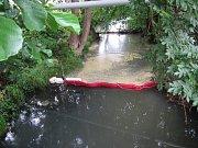 Do potoka Brumovka unikly tuky z restaurace