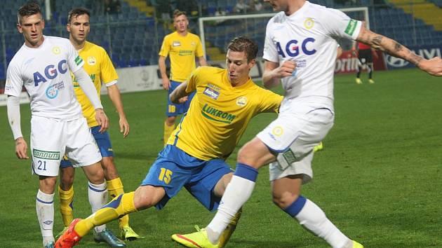 VC FASTAV Zlín- FK Teplice. Ilustrační foto.
