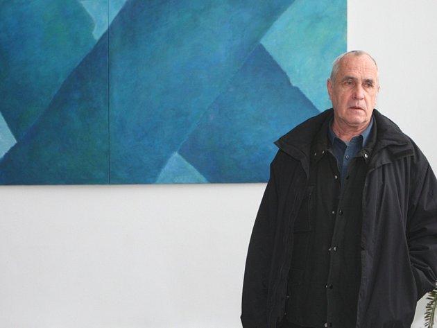 Výstava obrazů Michala Uhera.