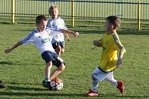 Prvoligový Fastav Zlín ve sportovním areálu Vlastislava Marečka na Vršavě uspořádal každoroční fotbalový nábor.
