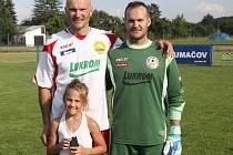 Bratři Petr (na snímku vpravo) a Daniel Máčalovi chodili za tatínkem do zlínské kabiny.